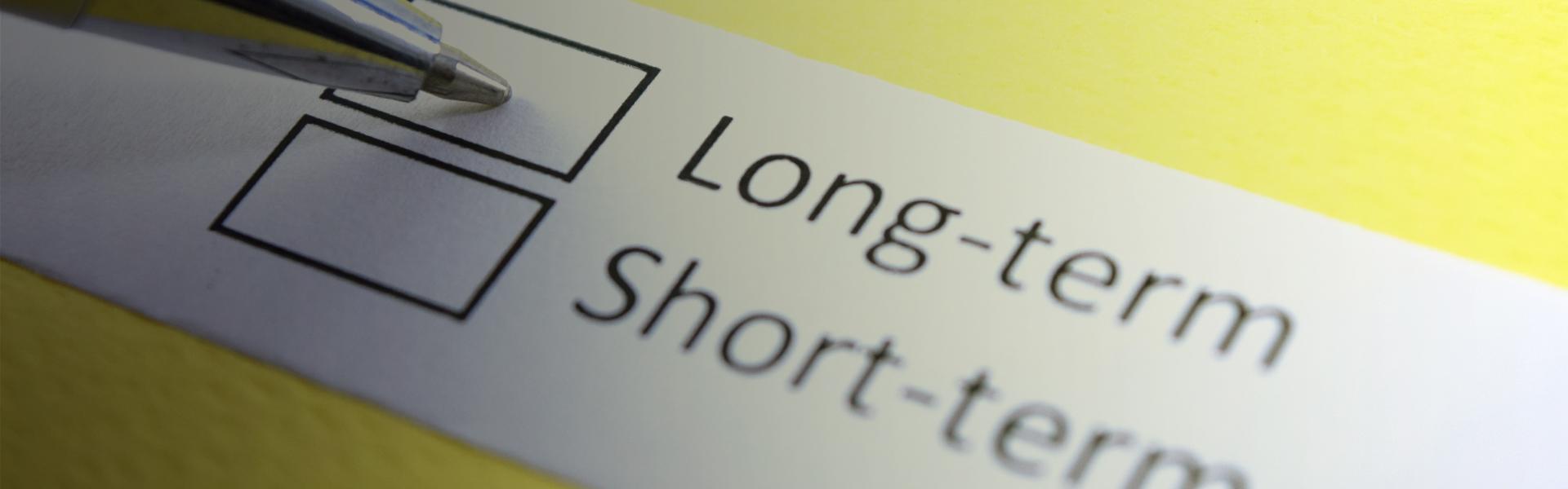 Short & long term storage